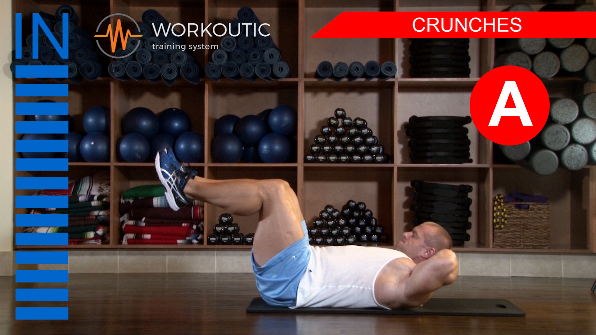 Abs Exercises - Workutic - 6 pack special - Crunches Inhale