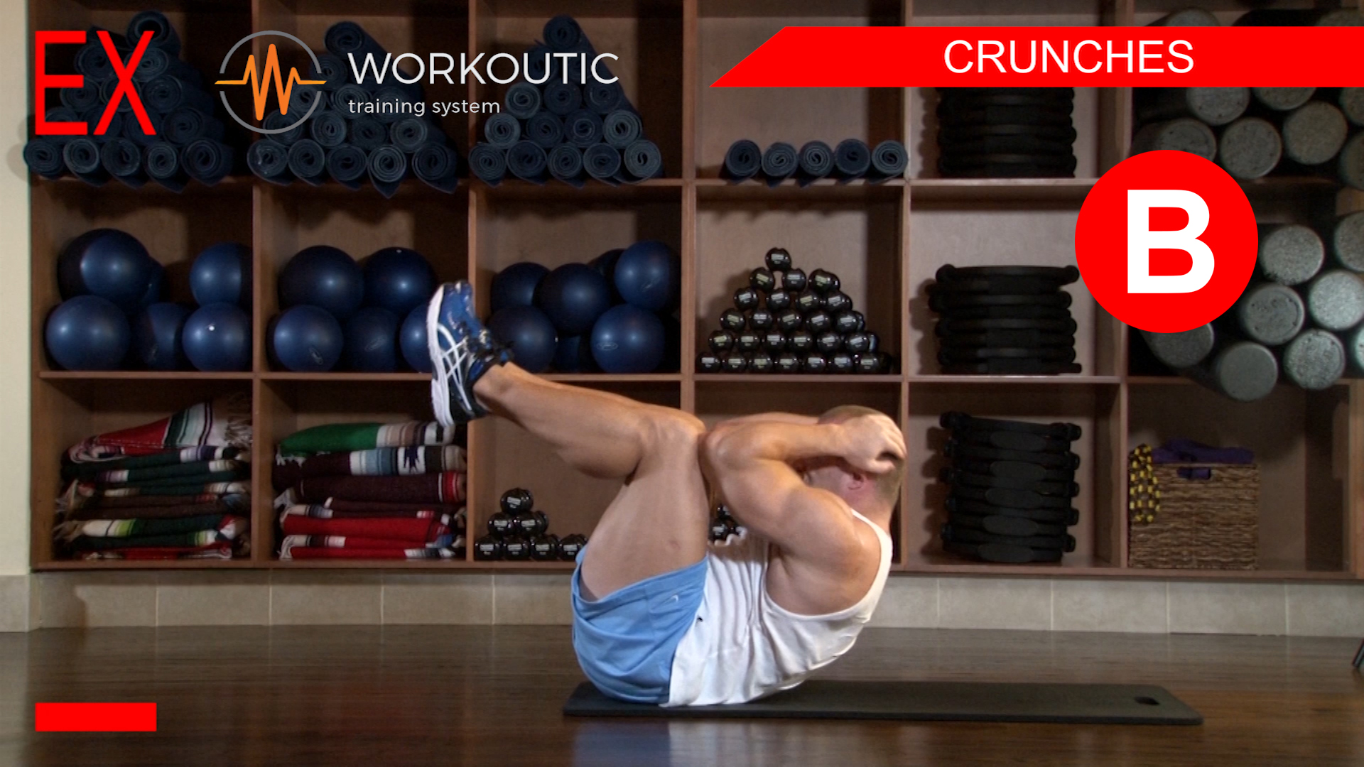 Abs Exercises - Workutic - 6 pack special - Crunches Exhale