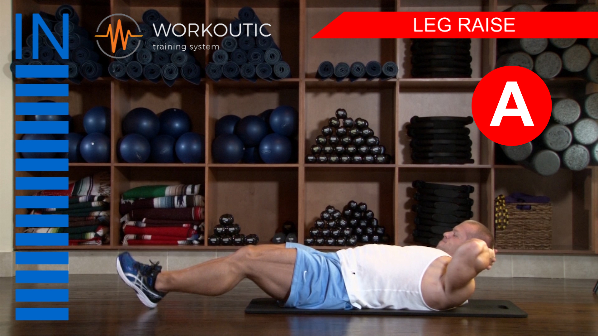 Abs Exercises - Workutic - 6 pack special - Leg Raise Inhale
