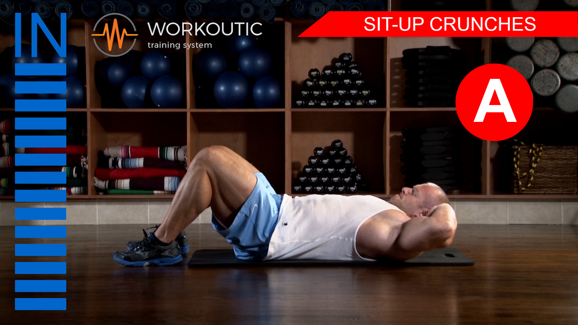 Abs Exercises - Workutic - 6 pack special - Sit-Up Crunches inhale