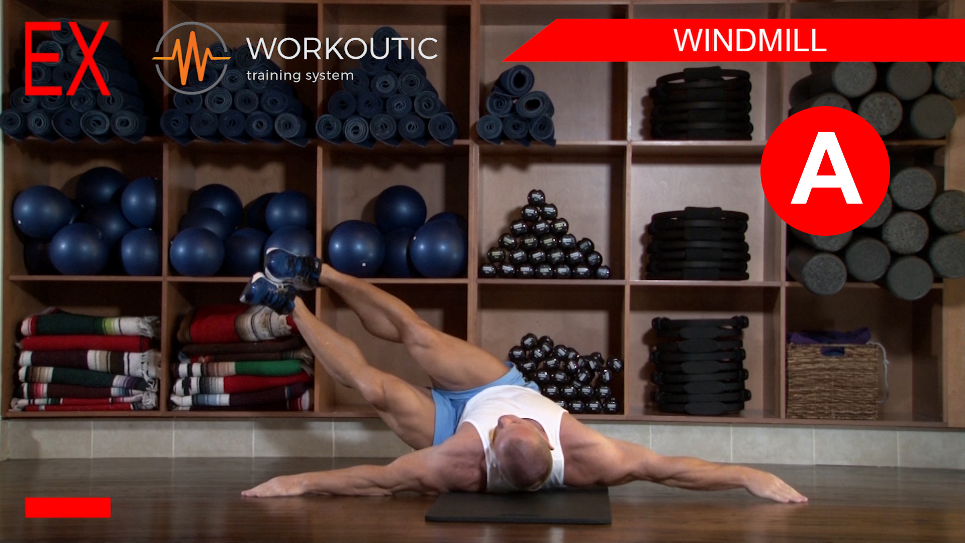 Abs Exercises - Workutic - 6 pack special - Windmill Inhale
